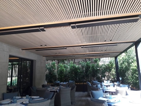 Herschel heating a restaurant in Mexico